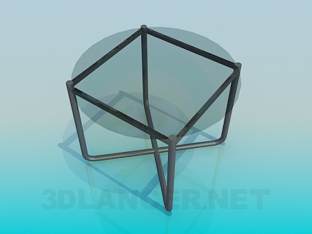 3d model A small coffee table - preview