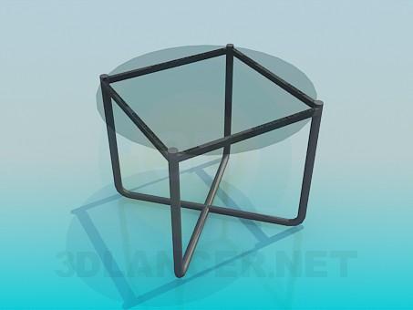 3d модель Невеликий журнальний столик – превью
