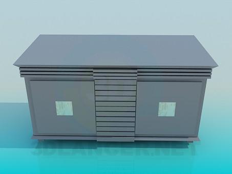 descarga gratuita de 3D modelado modelo Gabinete de mesa