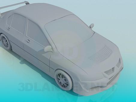 3d modeling Lancer 9 model free download