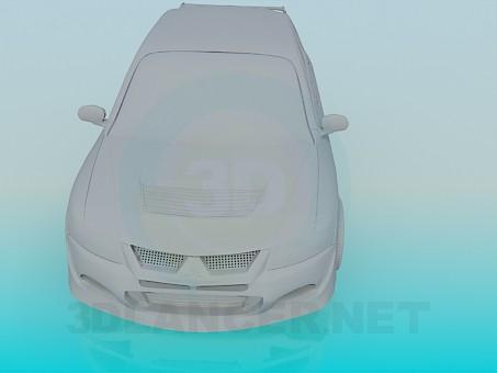 3d model Lancer 9 - preview