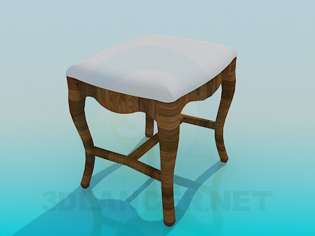 3d model Stool soft - preview