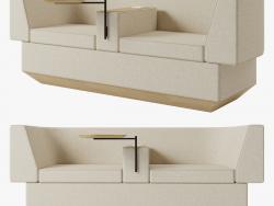 Sofá de tijolo