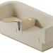 3d Brick sofa model buy - render
