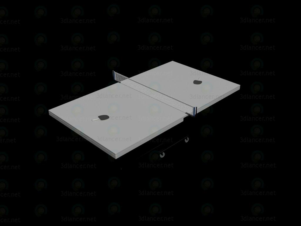 modèle 3D Une table de ping pong - preview