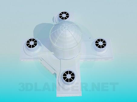 3d модель Вентиляційний комплекс – превью