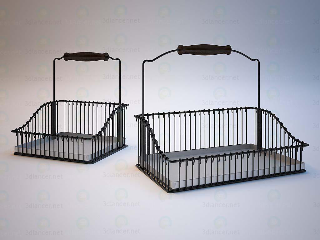 3d model Cestas de IKEA - vista previa