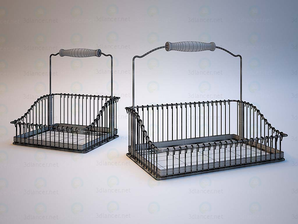 3d model Baskets IKEA - preview