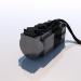 3d servomotor model buy - render