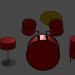 3d model Battery - preview