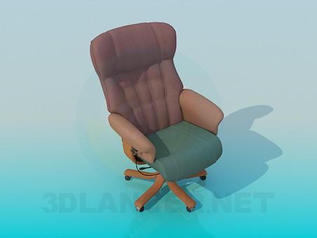 descarga gratuita de 3D modelado modelo Sillón de ruedas
