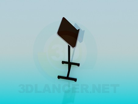 3d model pedestal for the speech - preview