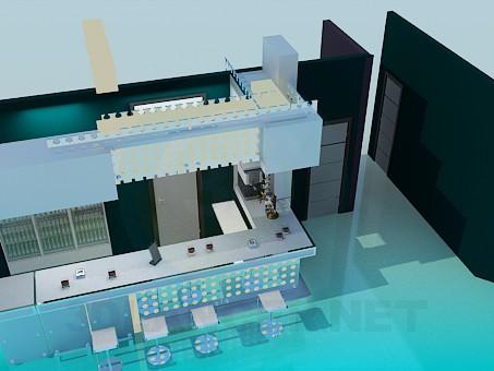 3d model Bar en el club - vista previa