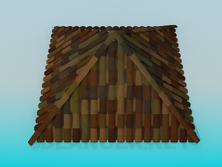 3d model Roof tiles - preview