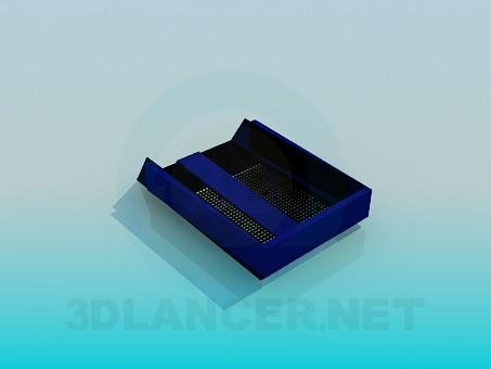descarga gratuita de 3D modelado modelo Contenedor para documentos