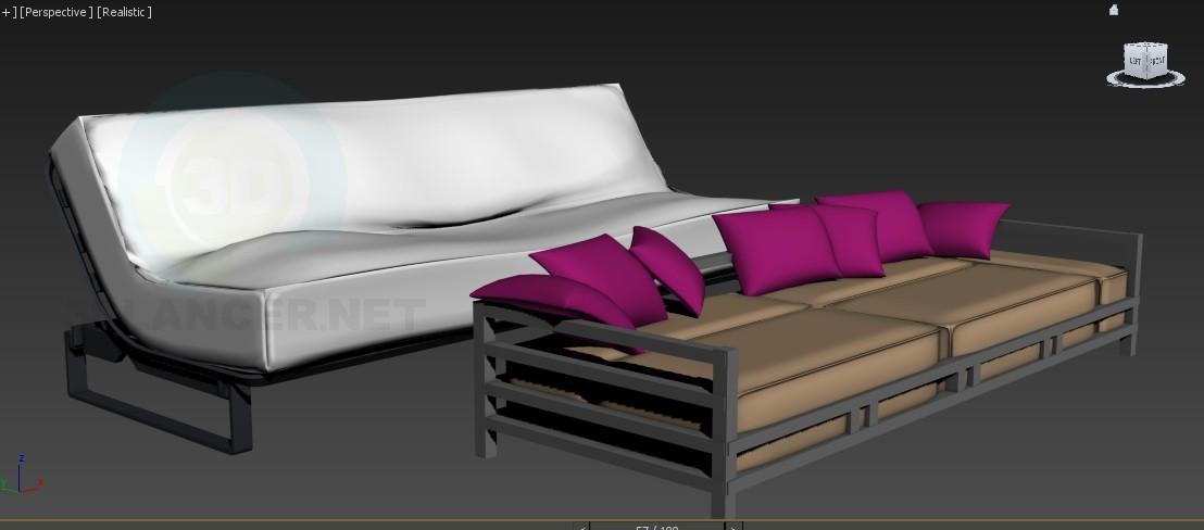3d моделирование диван модель скачать бесплатно