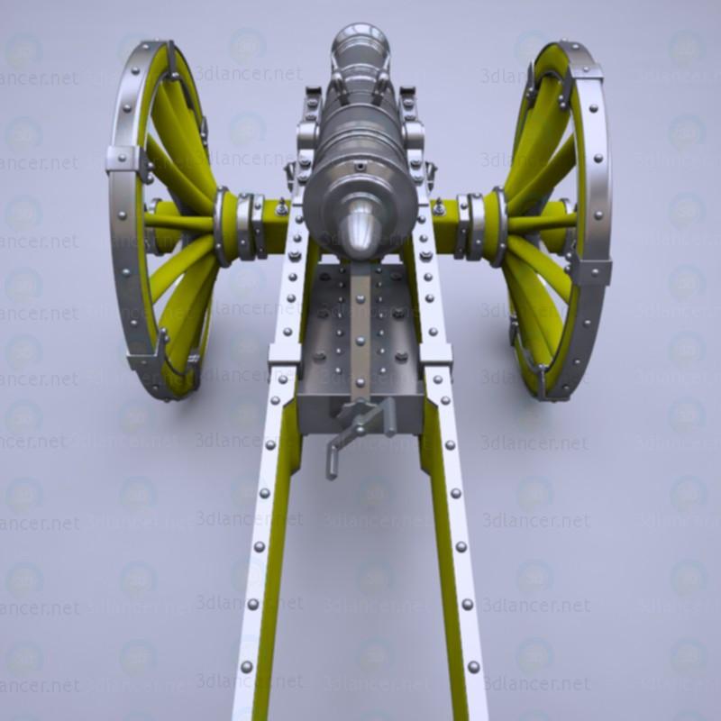 "3d Cannon ""Unicorn"" model buy - render"