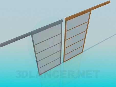 3d modeling Folding doors model free download