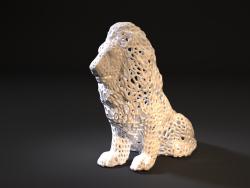 Roi Lion Voronoi