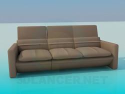 Sofa with cushions
