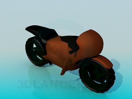 descarga gratuita de 3D modelado modelo Motos