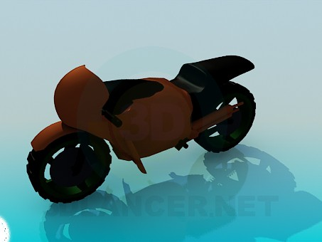 3d model Motorcycle - preview
