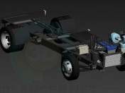 frame + motor