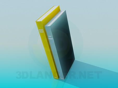 3d модель Книги – превью