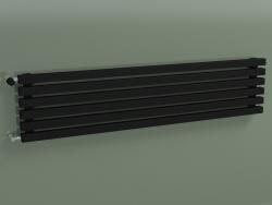Radiateur horizontal RETTA (6 sections 1500 mm 40x40, noir mat)