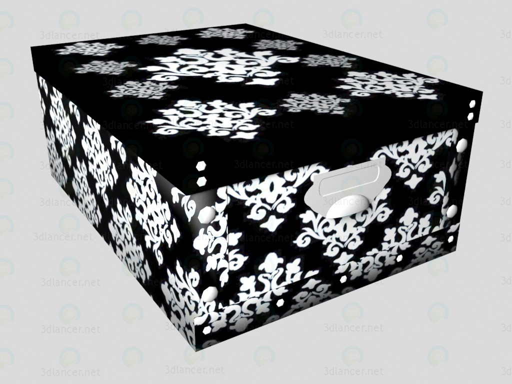 3d model Box Oslo (average) - preview
