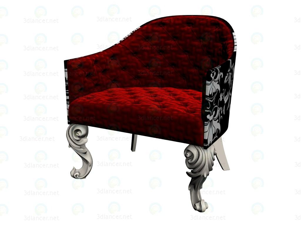 Modelo 3d A cadeira de Bellini - preview