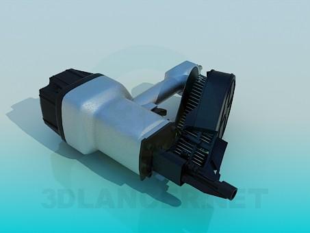 3d model Compressor - preview