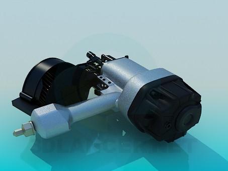 modelo 3D Compresor - escuchar