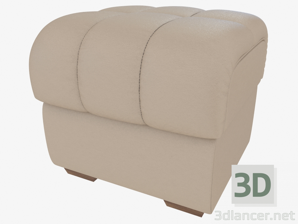 3d Model Leather Upholstered Bench Mobel Zeit Max 2013 Free