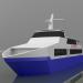 3d Ocean jet 8 model buy - render