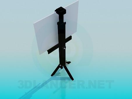 3d модель Подставка для плаката – превью