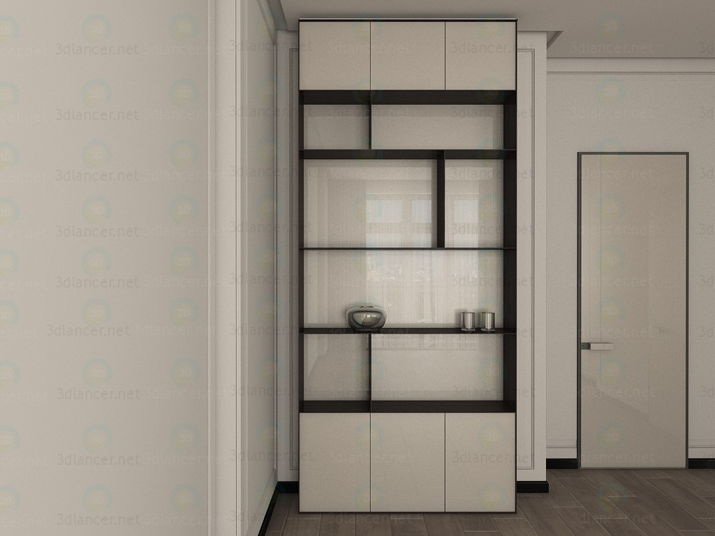 mod le 3d armoire le style japonais id 11661. Black Bedroom Furniture Sets. Home Design Ideas
