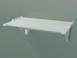 Prateleira com barra (L 60, P 36, H 22 cm)