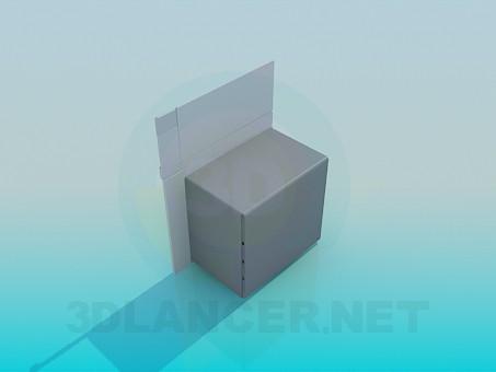 3d модель Духовой шкаф – превью