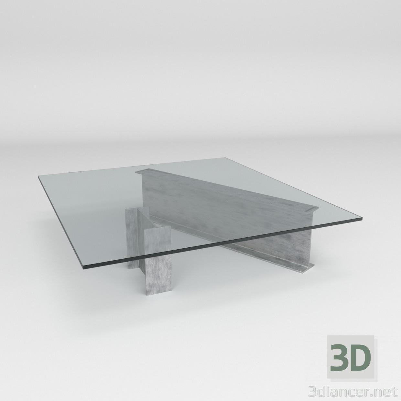 Modele 3d Table Basse Roche Bobois 3dlancer Net