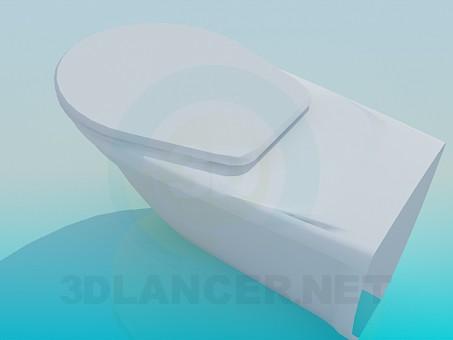 3d model Massive toilet - preview