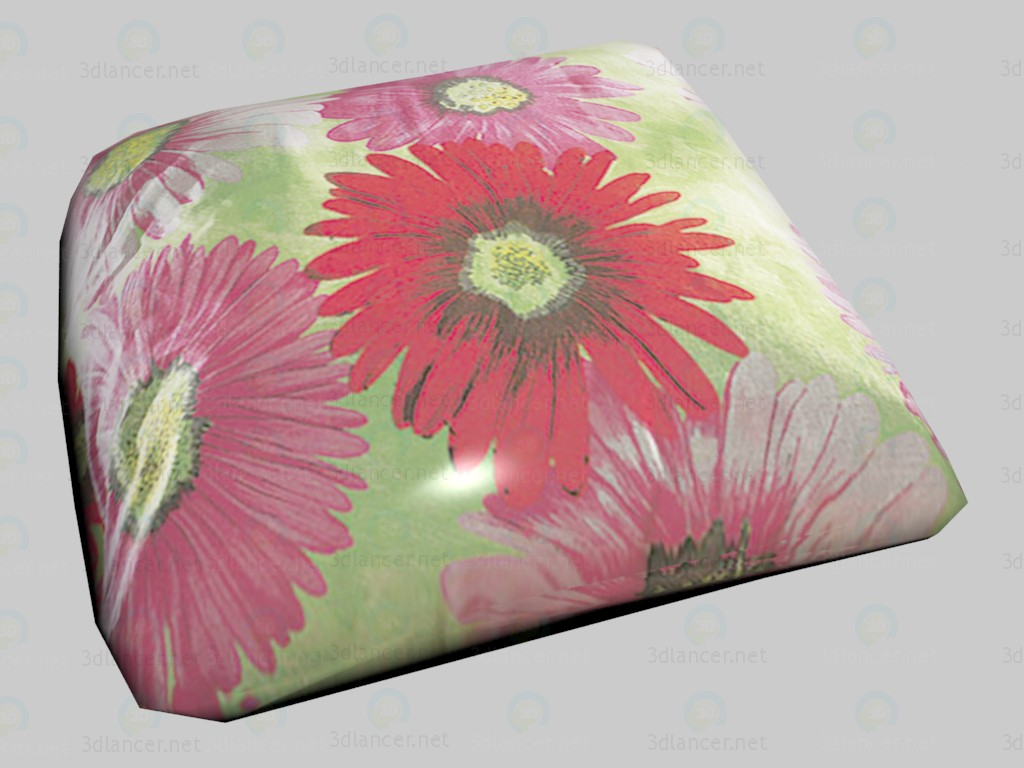 3d model Pillow Flower VOX - preview