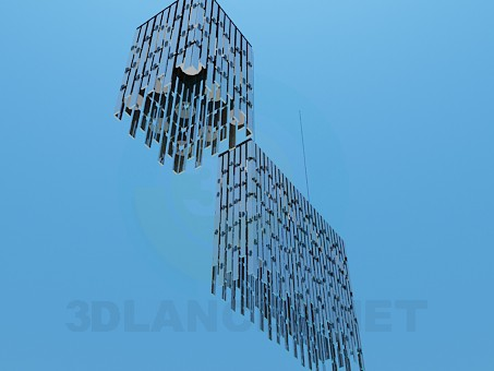 3d model Chandeliers in the set - preview