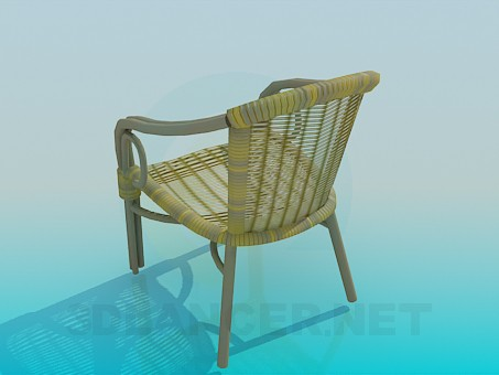 3d model Braided chair - preview