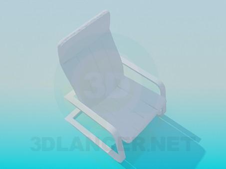 3D modeli Dinlenme koltukları - önizleme