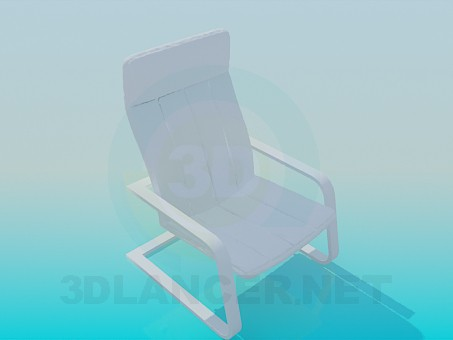 3d model Armchair for relaxation - preview