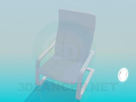 modelo 3D Sillón de relajación - escuchar