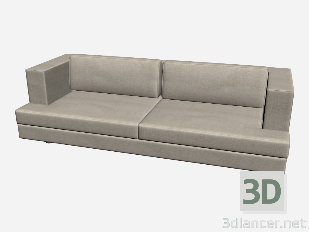3d modell 1 sofa ellington vom hersteller il loft sofas id. Black Bedroom Furniture Sets. Home Design Ideas