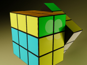 Rubik's Cube Animated