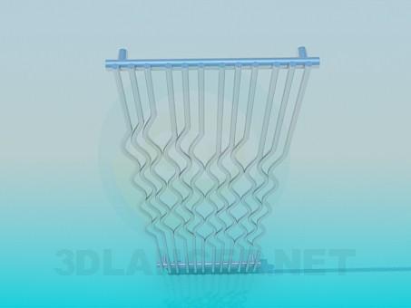 modelo 3D Elementos decorativos - escuchar